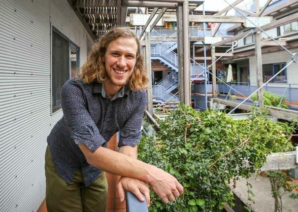 Бьорн Штурмберг - разработчик солнечной системы для многоквартирного дома