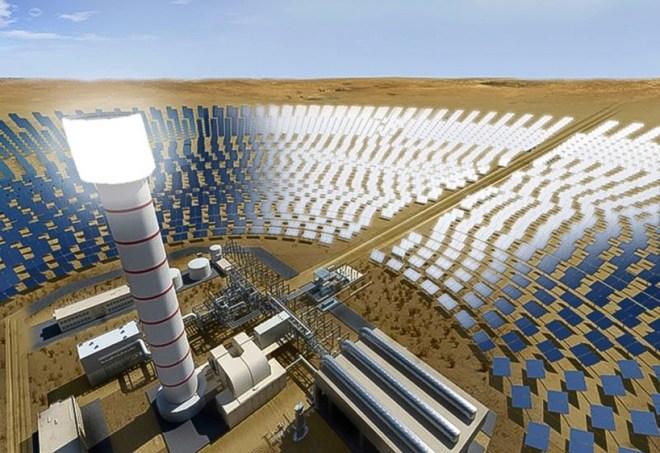 Концентраторная солнечная электростанция в Дубай (4 очередь) будет иметь мощность 700МВт