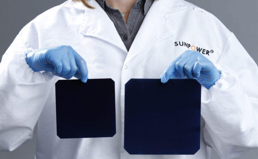 О том, как увеличивались размеры фотоэлектрических ячеек в солнечных модулях