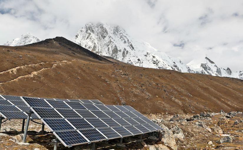 Солнечная энергетика Гималаев вырастет за счёт Индии
