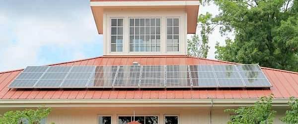 House Sun Panels