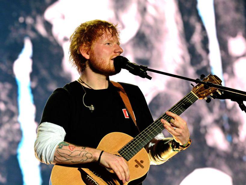 Ed Sheeran reveló sus adicciones y contó cómo su esposa lo salvó de ellas