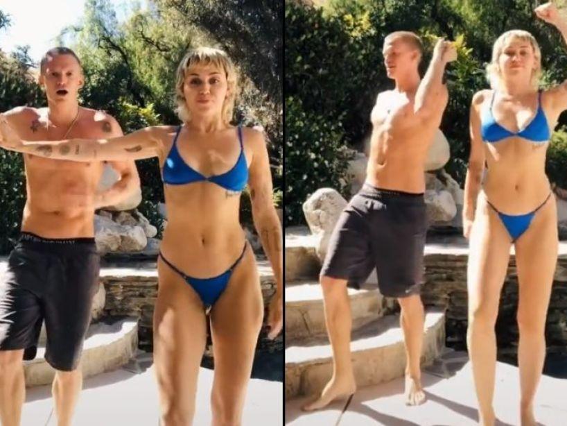 '¡Everybody Dance Now!': Miley Cyrus y Cody Simpson protagonizan un divertido TikTok