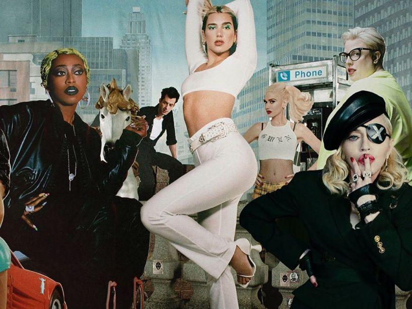 Dua Lipa anuncia el estreno de 'Club Future Nostalgia' con Gwen Stefani, Madonna y más