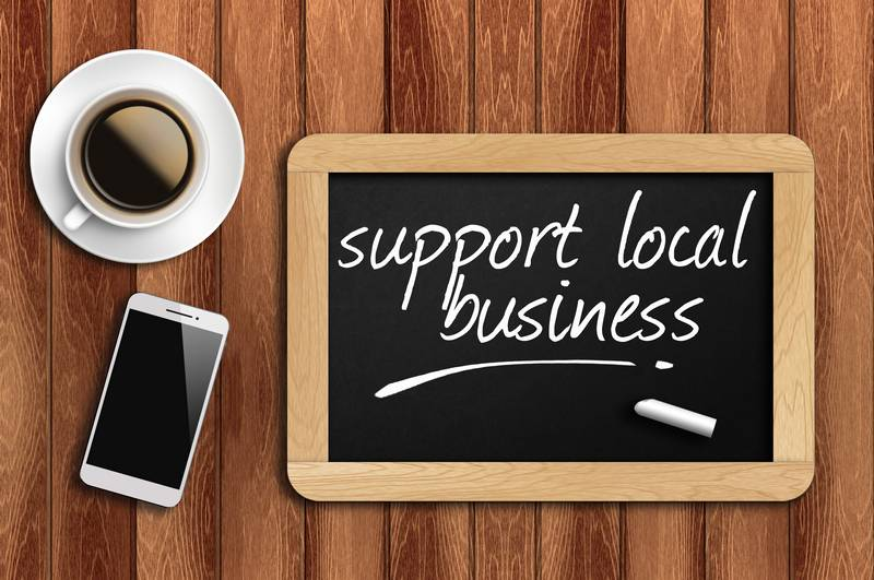Support local businesses Calgary