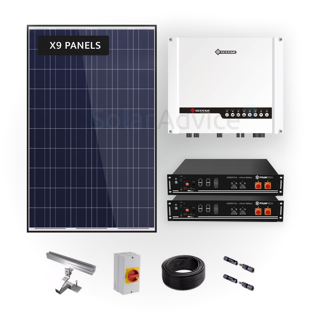 Goodwe – Lithium Storage 3.92kwh – Solar Power Kit