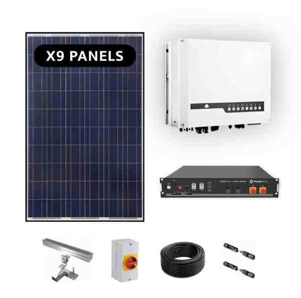 Goodwe ES 3.6kw Hybrid Solar Power Kit