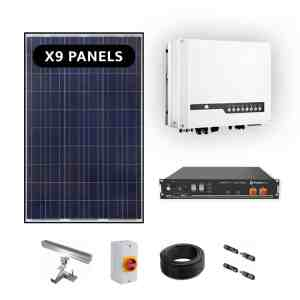 Goodwe ES 3.6kw Hybrid Solar Power Kit