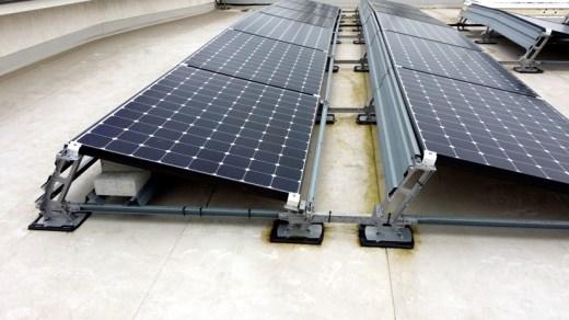 Hilti Aufständerung Solaranlage 3