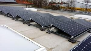 Hilti Aufständerung Solaranlage
