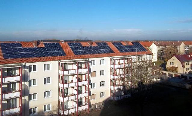 Referenzobjekt des Monats – Solargroßprojekt in Burg