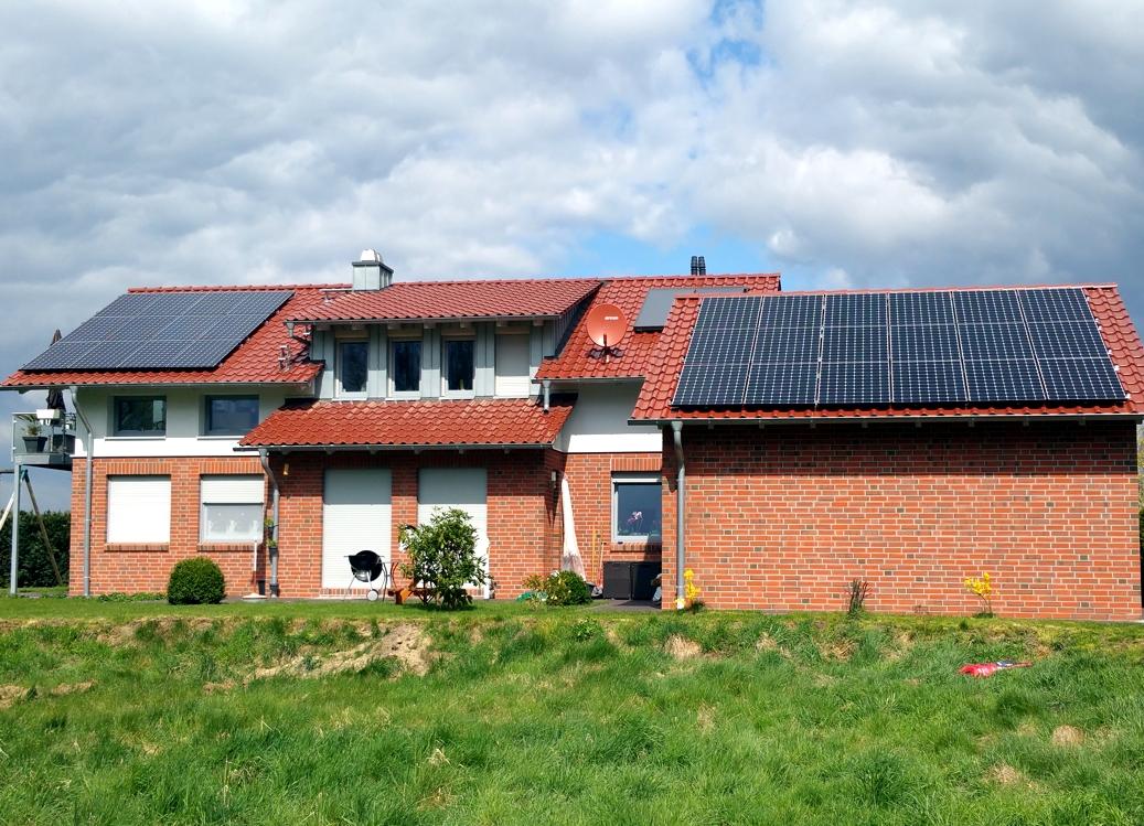 Solaranlage Photovoltaik in Wasbüttel