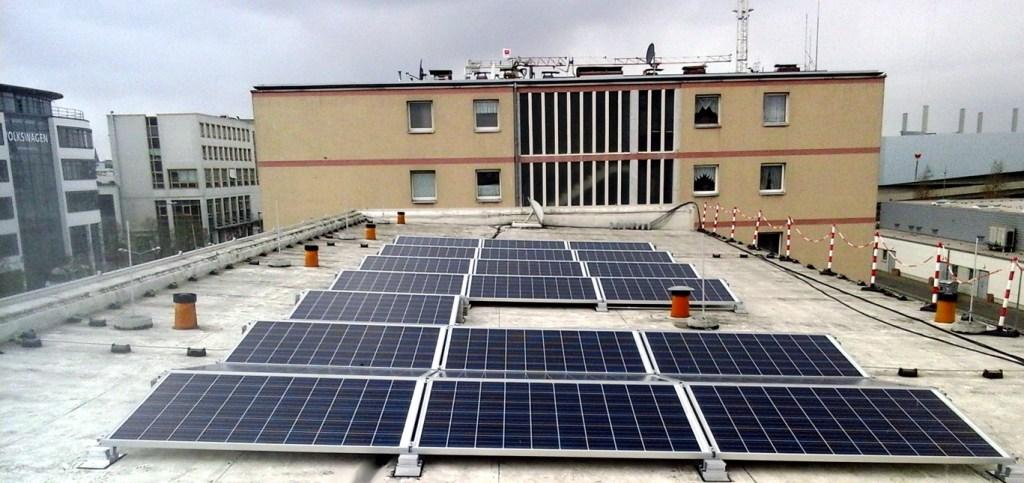 Solaranlage Oskar Kämmer Schule Wolfsburg 1