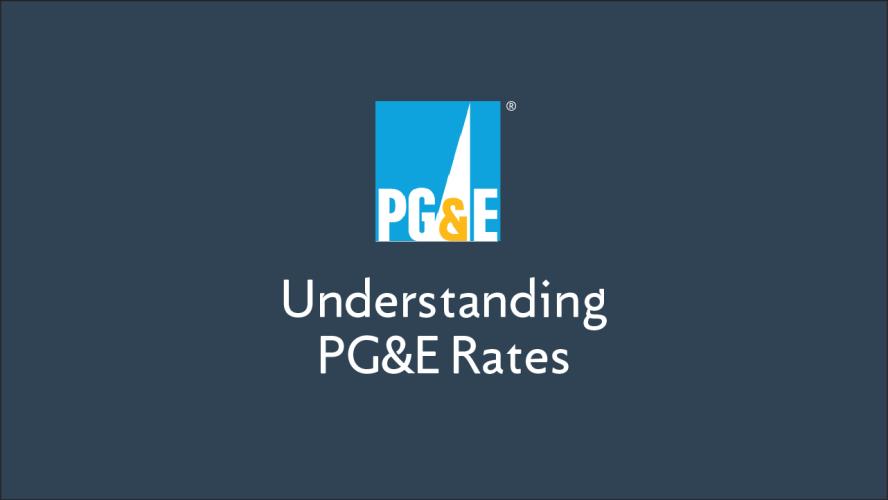 understanding pg u0026e rates