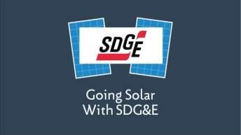 Going Solar with SDG&E
