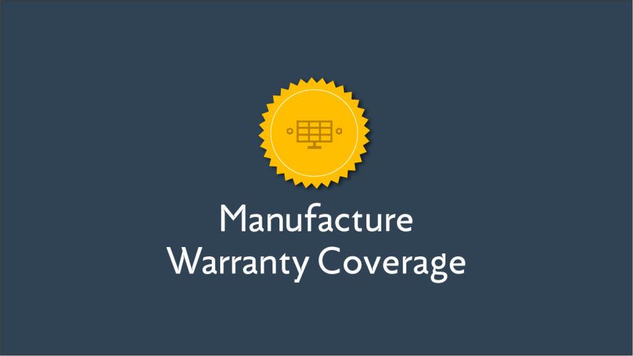 Manufacturer Warranty Coverage