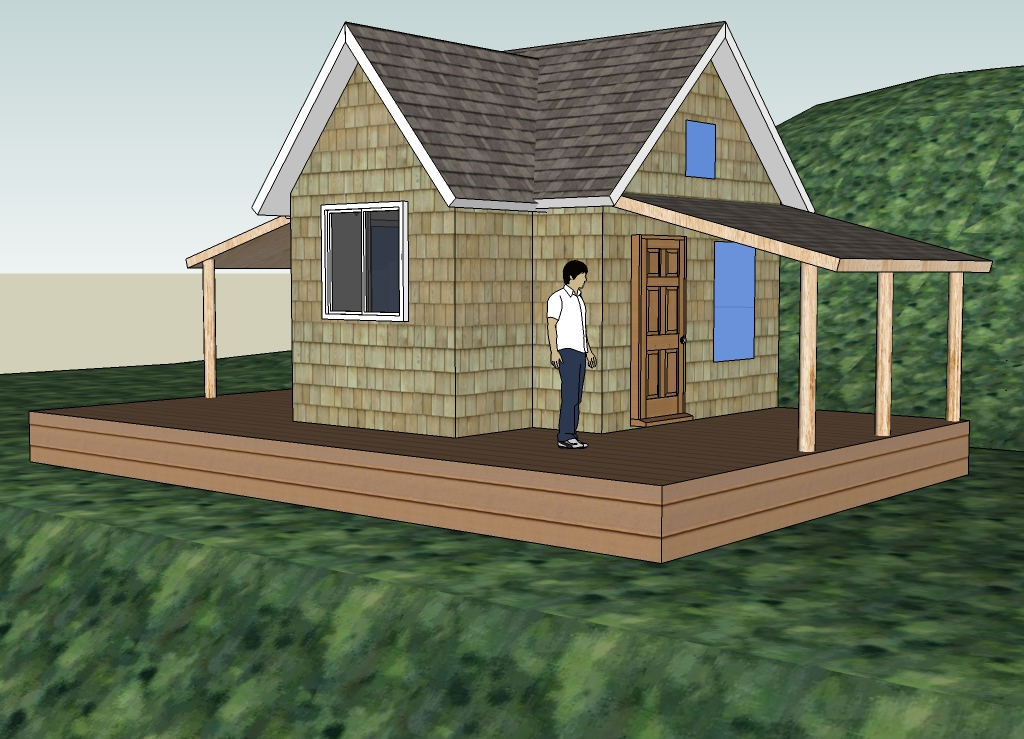 Tiny Home Designs: Free 3D Cabin Foundation Design