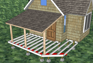porch and deck plan