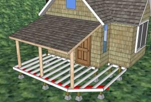 Off Grid Cabin Deck Plans