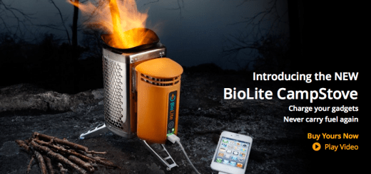 Biolite Camp stove charges your gadgets
