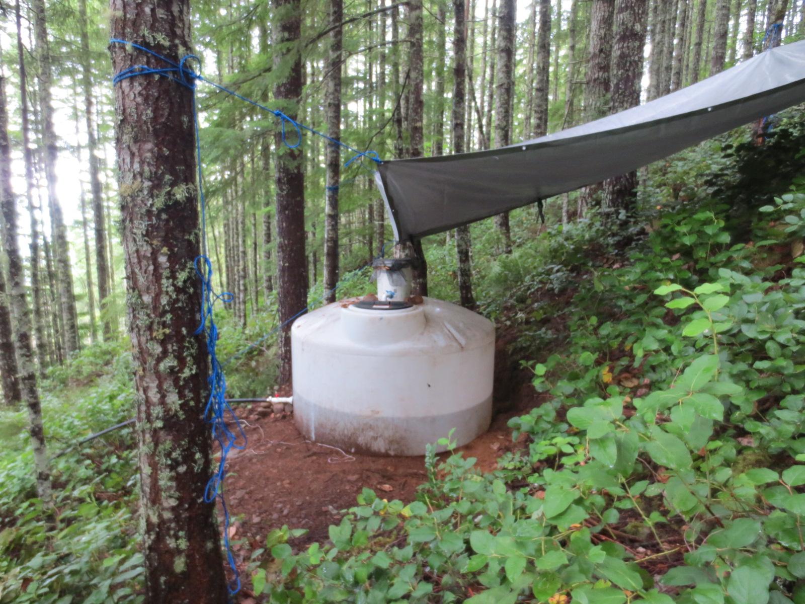 Off Grid Rain Water Collection Solar Burrito