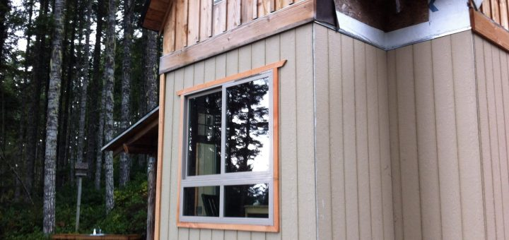 off grid cabin trim