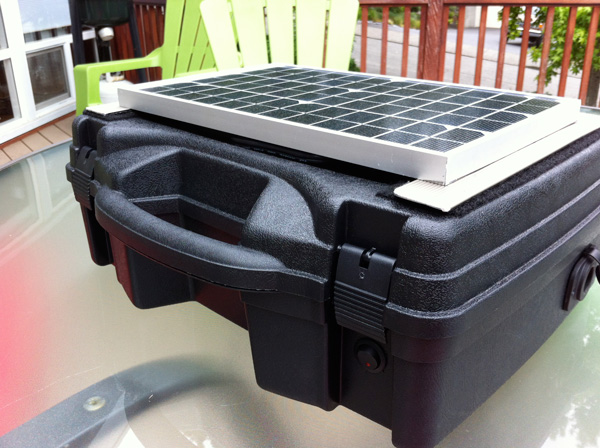 Build Your Own Solar Power Generator for under $150  Solar Burrito