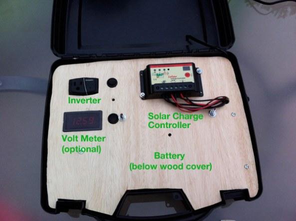 Solar Generator Diagram