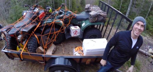 Brent unloading quads