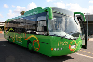 Adelaide's solar-electric bus,