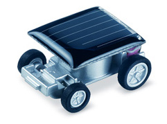 Tiny solar-powered car