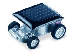 Tiny solar-powered car