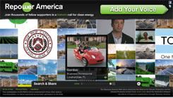 Repower America -- Screen shot