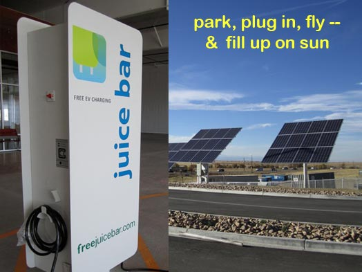 dia-can-solar-combined1 & Green parking lands at Denver International Airport ...
