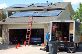 Two panels shy of a full, 5.59 kW solar system!