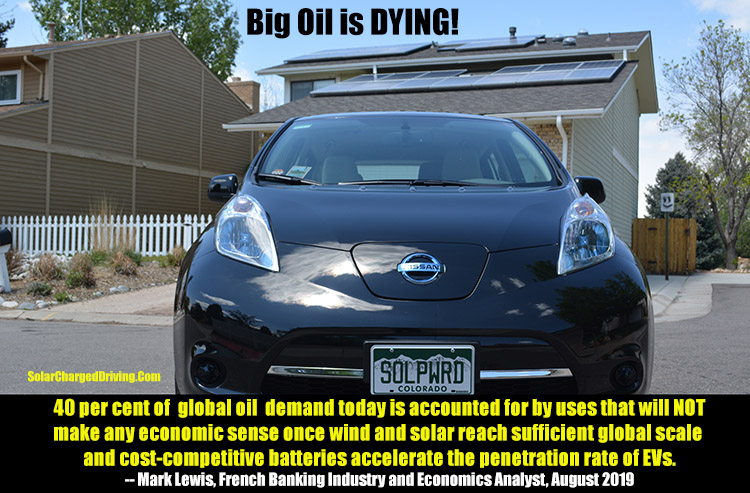 Big Oil is dead photographic