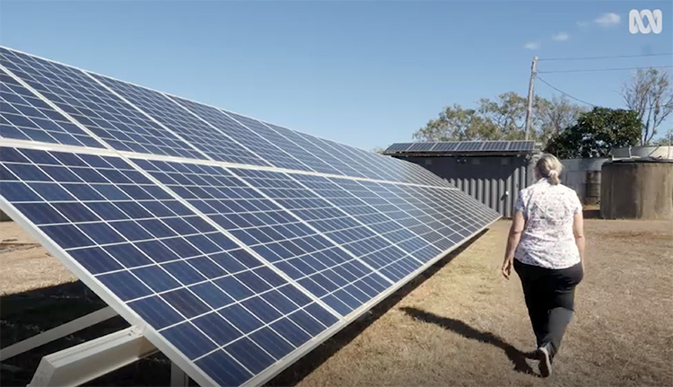 Off-grid home solar system in Australia