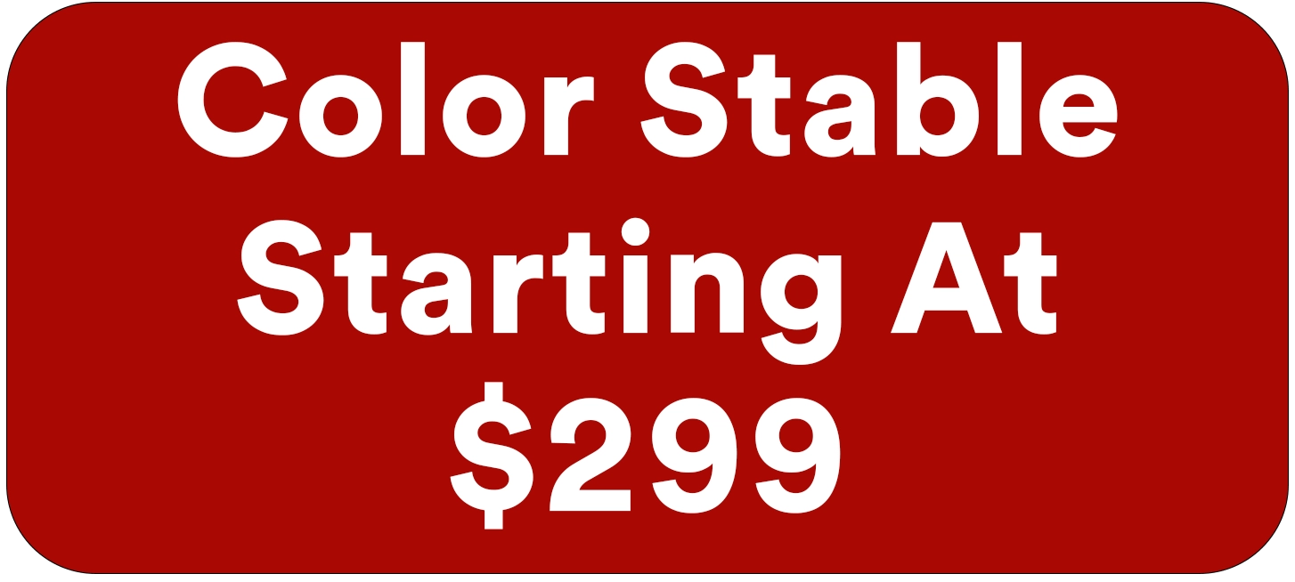 Automotive Window Tinting color stable starts at 299