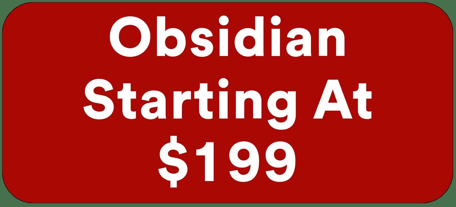 Automotive Window Tinting obsidian starts at $199