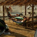 Hammock camping at Solarena Resort, Caba, La Union