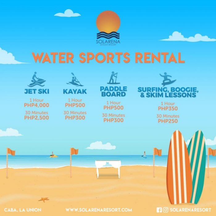 Watersports Rental