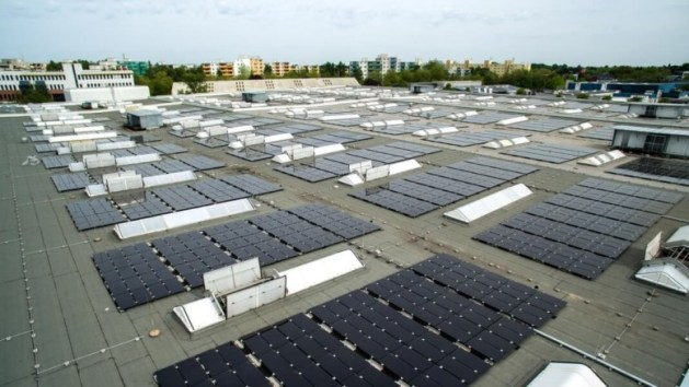 General Electric Combines Solar PV  Combined Heat and Power  and     General electric ge solar energy news