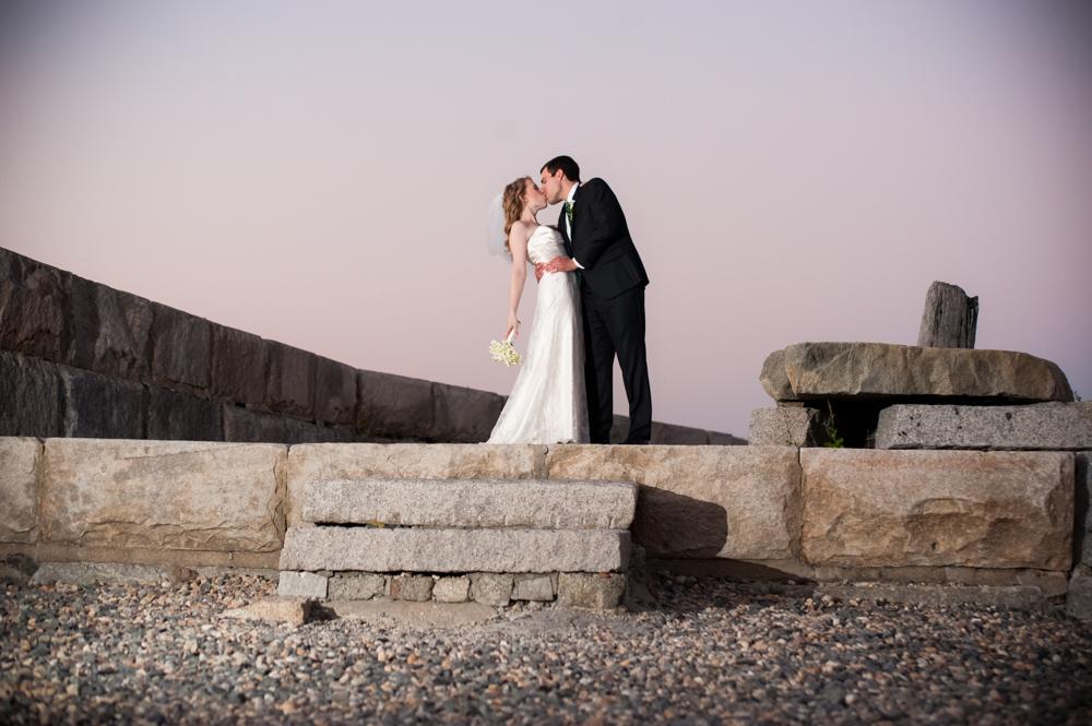 Cara & Harry - Rockport Art Association Wedding
