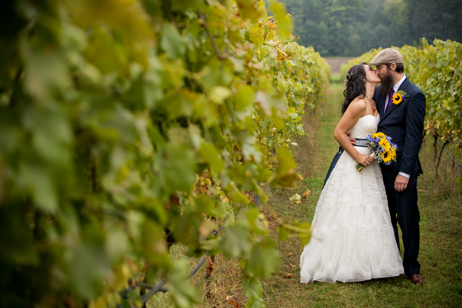 Shelley & Mike - Flaghill Winery Wedding
