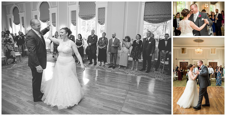 Hawthorne Hotel Wedding - Ballroom Reception Dancing