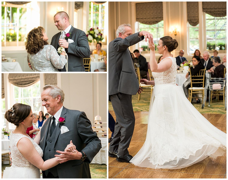 Hawthorne Hotel Wedding - Ballroom Reception