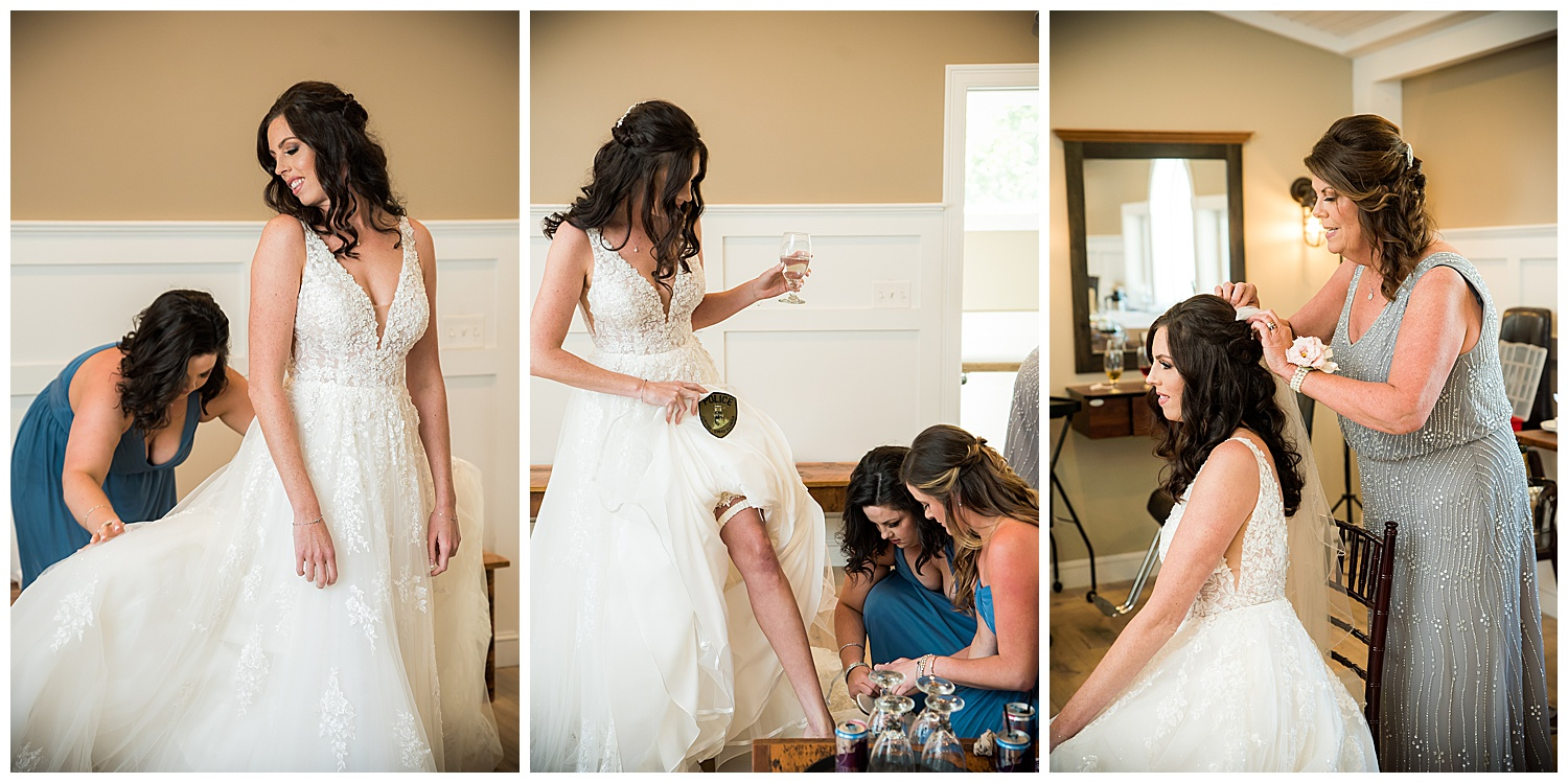 Birch Wood Vineyards Bride Getting Ready