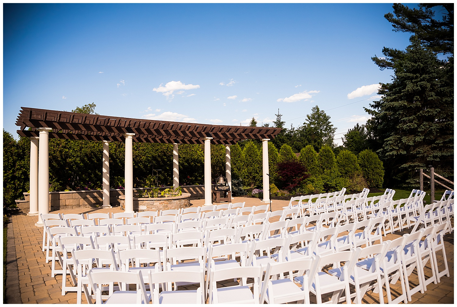 Birch Wood Vineyards Outdoor Ceremony