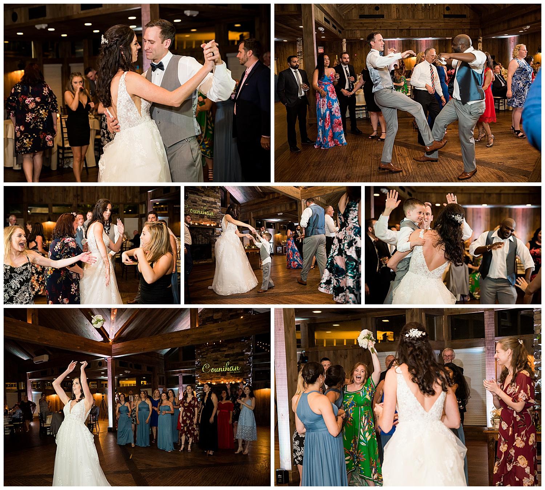 Birch Wood Vineyards Wedding Reception Dancing