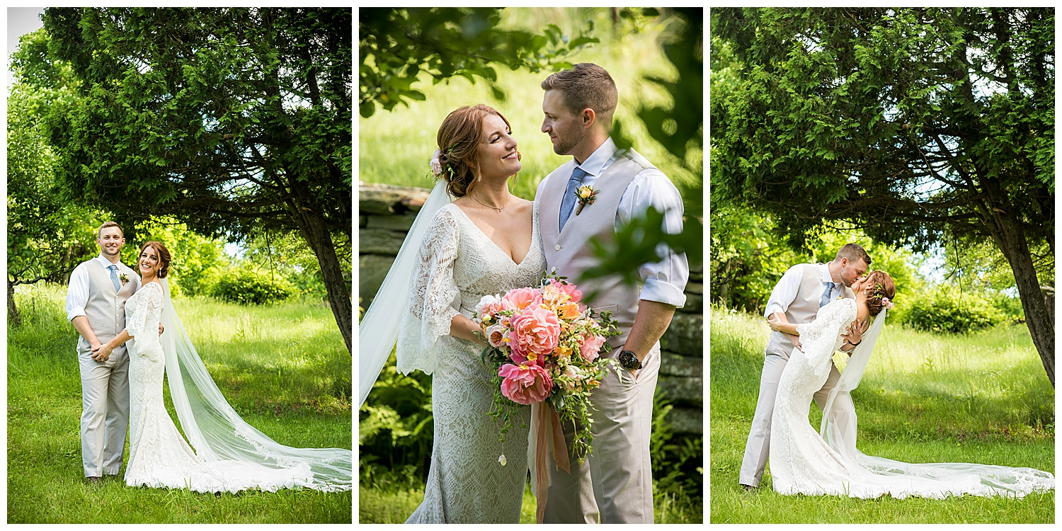 Valley View Farm Wedding - Bride & Groom Portraits